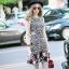 NA11010916 &#x1F389Normal Ally Present Love jacquard skirt dress&#x1F389 (เดรส , มีซับใน, ซิปหลัง) thumbnail 4