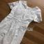 Lady Ribbon Lace Dress เดรสแขนสั้นผ้าลูกไม้สีขาว thumbnail 7