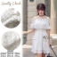 Sweet White Vintage Adorable Dress thumbnail 1