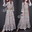 Sevy Bohemian Gifts Cowboy Long Sleeve Maxi Dress (Belt) thumbnail 3