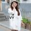 เสื้อผ้าคอกลม แฟชั่นเกาหลีแขนตุ๊กตา thumbnail 2
