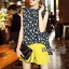 Lady Ribbon Online เสื้อผ้าออนไลน์ขายส่ง Normal Ally เสื้อผ้า,NA16220816 &#x1F389Normal Ally Present Tulip print shirt and pant with belt set&#x1F389 (เสื้อ + กางเกง + เข็มขัด) thumbnail 4