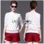 Lady Ribbon Online ขายส่งเสื้อผ้าออนไลน์ ขายส่งของแท้พร้อมส่ง Lady Ribbon LR06250717 &#x1F380 Lady Ribbon's Made &#x1F380 Lady Alessandra White Lace Blouse เสื้อลูกไม้สีขา thumbnail 1