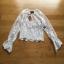 See-through Tulle Blouse Lady Ribbon เสื้อผ้าทูลล์ thumbnail 8