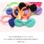 w1375 - Hair Accessories,ที่คาดผม,เครื่องประดับผม,กิ๊ปติดผม,เครื่องประดับ hit color bow hair ring thumbnail 2