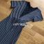 Striped Lady Ribbon Dress ขายเดรสผ้ายืด thumbnail 5