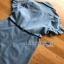 Lady Ribbon Chic Black Flower Denim Shirt Dress thumbnail 7