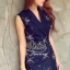 Navy Beauty Stylish Eelgant Dress thumbnail 3