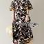 Lady Ribbon Online เสื้อผ้าออนไลน์ ขายส่งของแท้ราคาถููก LR07110716 &#x1F380 Lady Ribbon's Made &#x1F380 Lady Carley Beachy Relax Off-Shoulder Ruffle Maxi Dress thumbnail 2