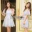 Lady Ribbon Mini Dress thumbnail 2