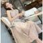 Lace Cocktail Dress Lady Ribbon ค็อกเทลเดรสผ้าลูกไม้ thumbnail 3