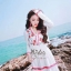 Adorable Lovely Elegant Korea Sweet Maxi Dress thumbnail 5