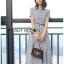 Shirt Dress Lady Ribbon ขายเชิ้ตเดรส thumbnail 2