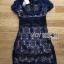 Lady Ribbon ขายส่งเสื้อผ้าออนไลน์พร้อมส่งของแท้ LR02220716 &#x1F380 Lady Ribbon's Made &#x1F380 Self-Portrait Louisa Guipure Lace Dress thumbnail 6