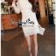 Lady Ribbon Online เสื้อผ้าแฟชั่นออนไลน์ขายส่ง เลดี้ริบบอนของแท้พร้อมส่ง Veryverypreppy เสื้อผ้า VP08240716 Luxury Lace White embroidery dress thumbnail 4