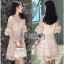 Lady Ribbon Anna Sweet Pink Lace Dress thumbnail 1