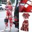 Lady Ribbon Online เสื้อผ้าออนไลน์ขายส่ง Normal Ally เสื้อผ้า,NA06220816 &#x1F389Normal Ally Present D&G Apple Summer casual set&#x1F389 (เสื้อ + กางเกง) thumbnail 6
