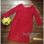 Slim Dress แฟชั่นเกาหลีเดรสผ้าลูกไม้ thumbnail 4