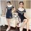 Lady Ribbon Online เสื้อผ้าออนไลน์ ขายส่ง VP06110716 Soft Denim Embroidered Shirt Dress thumbnail 2