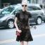 Lady Ribbon Online เสื้อผ้าออนไลน์ขายส่ง Normal Ally เสื้อผ้า,NA11220816 &#x1F389Normal Ally Present Elegance sleeve black lace lotus leaf swing&#x1F389 (เดรสผ้าลูกไม้, มีซับในอย่างดี) thumbnail 4
