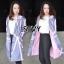 เสื้อคลุมแฟชั่น ผ้าฮานาโกะ /Hanako thumbnail 2