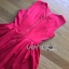 Lady Ribbon Rose Embroidered Dress เดรสคัทเอาท์เอวตกแต่งดอกกุหลาบสีแดง thumbnail 6