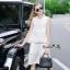 Lady Ribbon Online เสื้อผ้าออนไลน์ขายส่ง Normal Ally เสื้อผ้า NA08180816 &#x1F389Normal Ally Present Lace white princess summer set&#x1F389 thumbnail 2