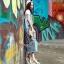 Lady Ribbon Online เสื้อผ้าออนไลน์ขายส่ง Normal Ally เสื้อผ้า NA01150816 &#x1F389Normal Ally Present Denim bib skirt summer set&#x1F389 (เอี้ยมยีนส์ปักเลื่อม + เกาะอกสีดำ) thumbnail 2