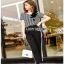 Lady Ribbon Anna Street Chic Sweatpants เสื้อลายทาง thumbnail 3