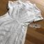 Dress with Ribbon เดรสผ้าลูกไม้สีขาวติดกระดุม thumbnail 4