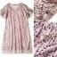 Lady Ribbon Online เสื้อผ้าออนไลน์ ขายส่ง normal ของแท้ NA08140716 &#x1F389Normal Ally Present embroider crystal neck elegant dress thumbnail 6