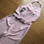 Lady Ribbon Baby Pink Crepe Jumpsuit thumbnail 5