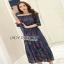 Lady Ribbon Cotton Dress ขายเดรสผ้าคอตตอน thumbnail 3