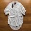 Lady Ribbon Embroidered White Cotton Top เสื้อผ้าคอตตอนสีขาว thumbnail 10