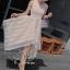 Cream Natural Essentials Lady Flora Dress thumbnail 4
