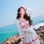 Adorable Lovely Elegant Korea Sweet Maxi Dress thumbnail 4