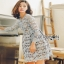 Lady Ribbon Lace Dress ขายเดรสผ้าลูกไม้ thumbnail 5