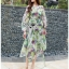 Lady Ribbon Silk Wrap Dress ขายเดรสผ้าชิลค์ thumbnail 1