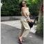 Lady Lily Casual Chic Ribbon Jumpsuit จัมป์สูทสายเดี่ยว thumbnail 3