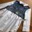 Lady Ribbon Cotton Shirt ขายส่งเชิ้ตเดรส thumbnail 5