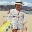 Summer Style White Crochet Dress Lady Ribbon เดรสผ้าถักโครเชต์ thumbnail 3