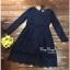 ชุดเดรสผ้าลูกไม้ตัวยาวทั้งตัวค่ะ เนื้อเสื้อผ้าลูกไม้เกาหลี thumbnail 4