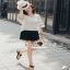 Lace V Blouse เสื้อเก๋ๆ หวานๆ สไตล์เกาหลี thumbnail 4