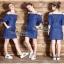 Denim Mini Dress thumbnail 1