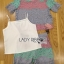 Lady Ribbon Online ขายส่ง เสื้อผ้าออนไลน์ ของแท้ ราคาถูกพร้อมส่ง เลดี้ริบบอน LR13140716 &#x1F380 Lady Ribbon's Made &#x1F380 Lady Rachel Rainbow Pastel Striped Lace Set thumbnail 6