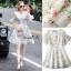 Lady Ribbon Online เสื้อผ้าออนไลน์ขายส่ง Normal Ally เสื้อผ้า NA13150816 &#x1F389Normal Ally Present flower print summer dress&#x1F389 thumbnail 6