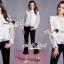 SS19290816 Seoul Secret Say's .... Daisy Lace Chiffon Blouse thumbnail 1