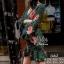 2Sister Made, Emerald Green Cuties Dress เดรสสั้น ผ้าchiffonพริ้วบางเบาพิมพ์ลายดอกสวยทั้งตัว thumbnail 5
