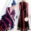 Lace Dress เดรสยาวลูกไม้นิ่มแดงดำ thumbnail 1