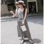 Lady Ribbon Jumpsuit จัมป์สูทลายสก็อต thumbnail 1